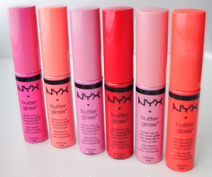 beauty, NYX, and pink image