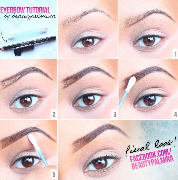 Eyebrow Tutorial Beautiful Shoes On We Heart It