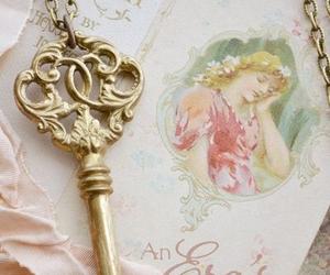 key, vintage, and beautiful image