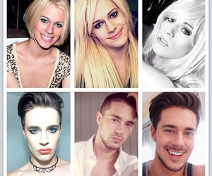 chris crocker, love is love, and be who you wanna be image