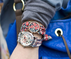 watch and floral image