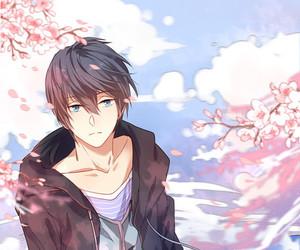 anime, free!, and haruka nanase image