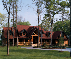 Country House, timber and log home, and furniture selection image