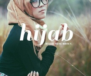 hijab and quote image