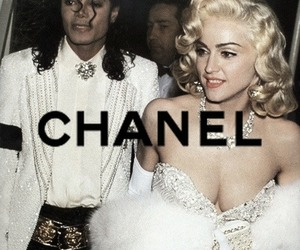chanel, madonna, and michael jackson image