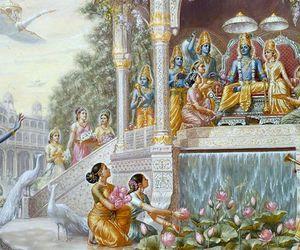 god, indian, and Krishna image