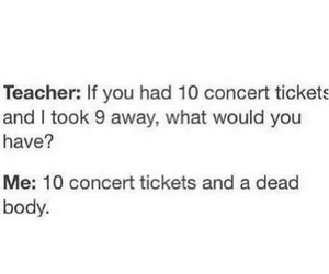 band, funny, and tickets image