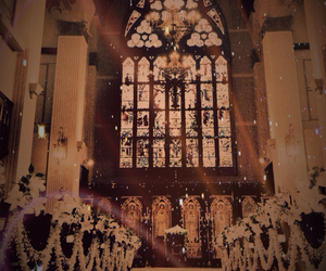 beautiful, marriage, and church image