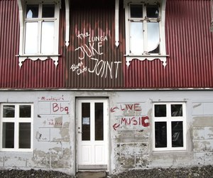 bar, graffiti, and iceland image