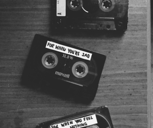 cassettes, feelings, and happy image