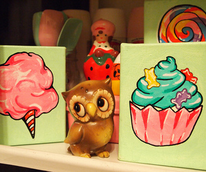 candy, owl, and cute image
