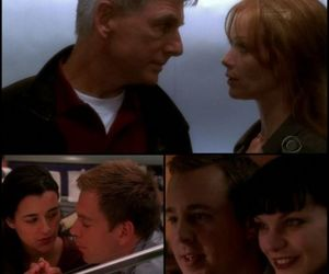 ncis, pauley perrette, and michael weatherly image