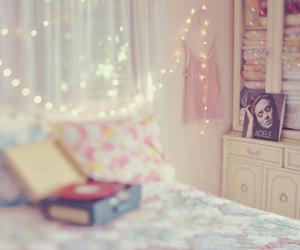 light, Adele, and room image