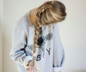 awesome, girl, and trenza image