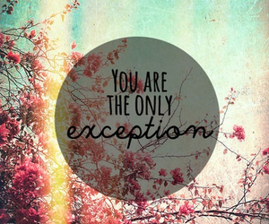 exception and love image
