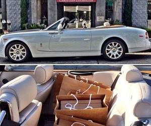 car, luxury, and shopping image
