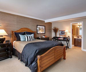 luxury, house, and bedroom image