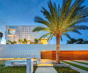 house, luxury, and palms image