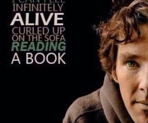 alive, benedict, and book image