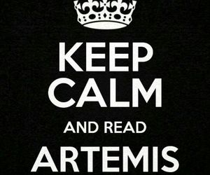 keep calm, read, and artemis fowl image