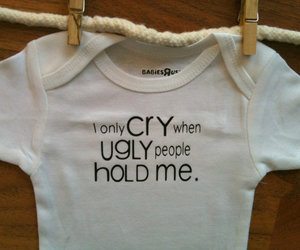 baby, cry, and funny image