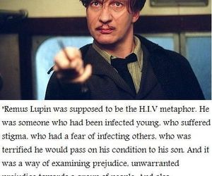 harry potter, lupin, and hp image