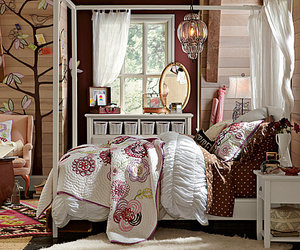 bedroom, bed, and design image