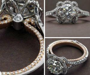 ring, wedding, and bride image