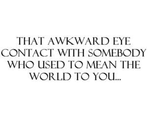 awkward, mean, and you image