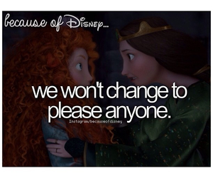 brave and because of disney image