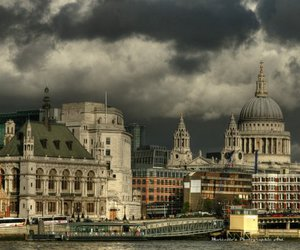 london, photography, and sky image