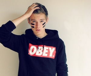 obey, boy, and Hot image