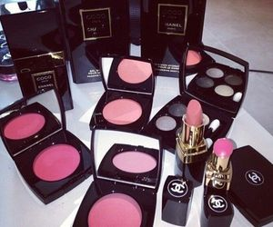 chanel, eyes, and lips image