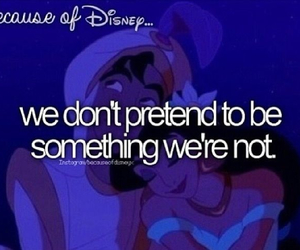 disney, aladdin, and because of disney image