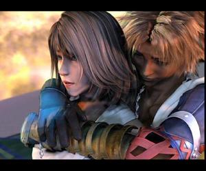 end, FFX, and final fantasy image