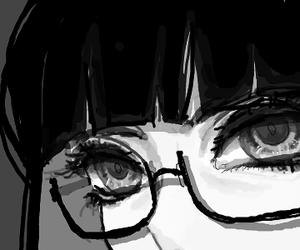 anime and glasses image