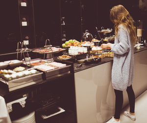 fashion, food, and style image