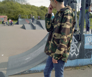 skate, boy, and style image