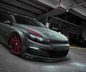 vw and scirocco r image