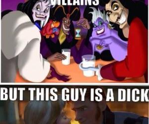 frozen, disney, and villain image