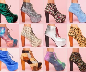 jeffrey campbell, fashion style, and lita shoes image