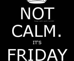 friday, 13th, and keep calm image