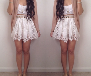 dress, cute, and short image