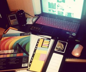 colors, exam, and study image