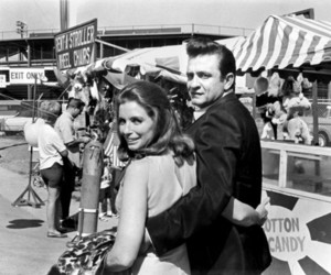 Johnny Cash, june carter, and couple image