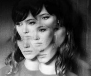 anna karina and vintage image