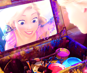 tangled, disney, and princess image