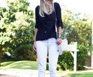 black and white, street style, and luisa accorsi image