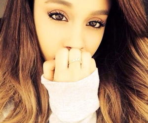 flawless, arianagrande, and prettybrowneyes image