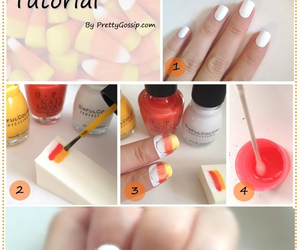 nails, diy, and candy image